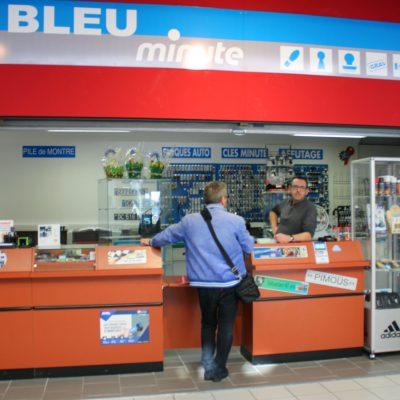 Bleu Minute Service