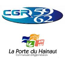 Logo du CGR 59/62 et de la Porte du Hainaut