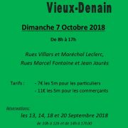 Braderie-Brocante du Vieux-Denain