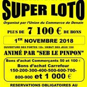 SUPER LOTO 1ER NOVEMBRE 2018